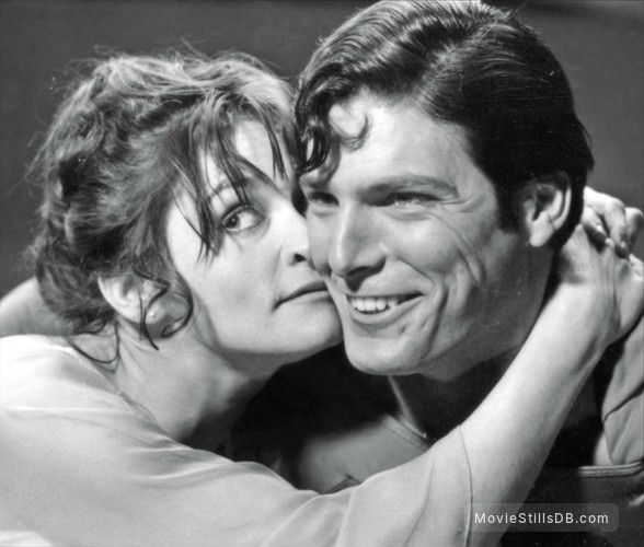 Superman - Publicity still of Margot Kidder & Christopher Reeve