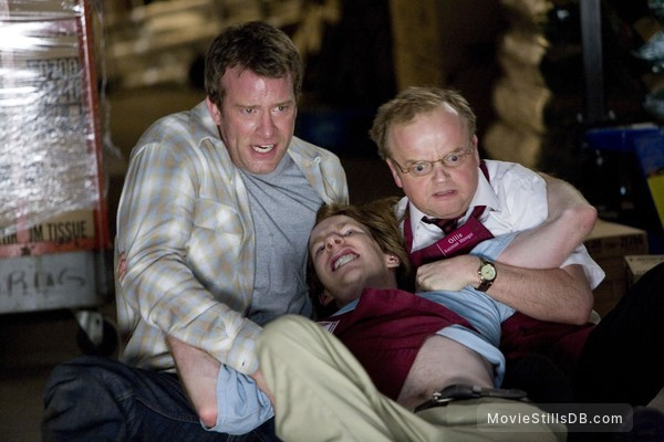 The Mist - Publicity still of Thomas Jane, Toby Jones & Chris Owen