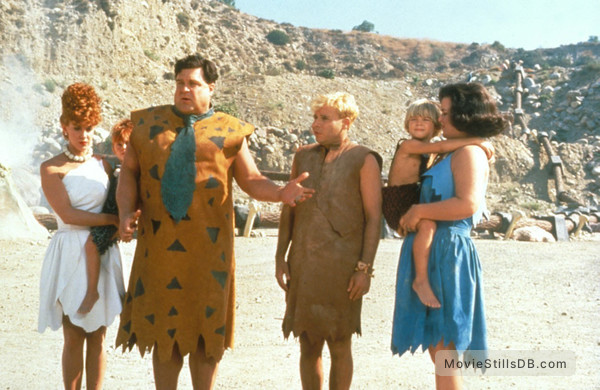 the flintstones publicity still of john goodman amp rick