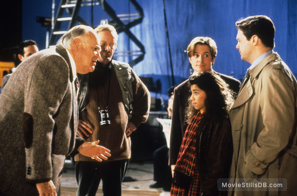 Life with Mikey - Publicity still of Michael J. Fox, Christina Vidal, Nathan Lane & Tony Hendra