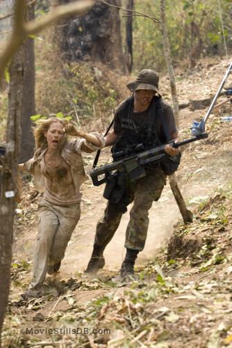 Rambo - Publicity still of Matthew Marsden & Julie Benz