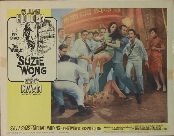the world of suzie wong lobby card