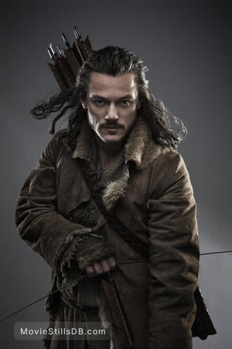 The Hobbit: The Desolation of Smaug - Promo shot of Luke Evans