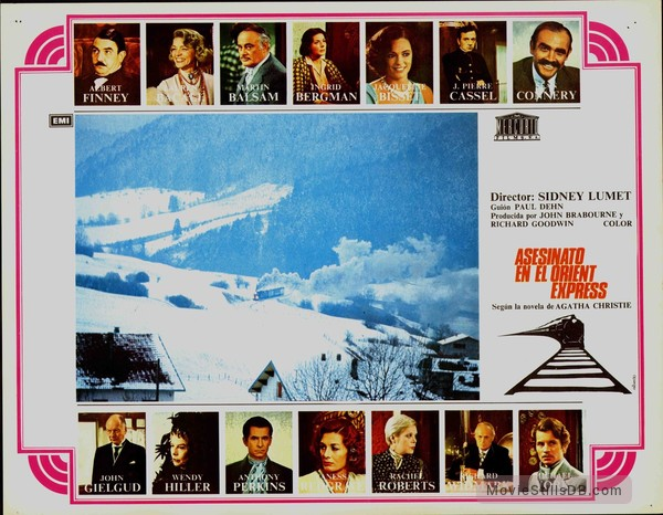 Murder on the Orient Express - Lobby card