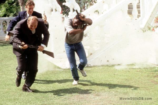 Beverly Hills Cop - Publicity still of John Ashton, Judge Reinhold & Eddie Murphy