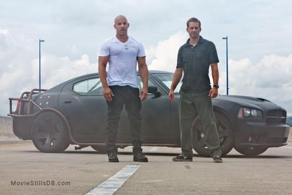 Fast Five - Publicity still of Paul Walker & Vin Diesel