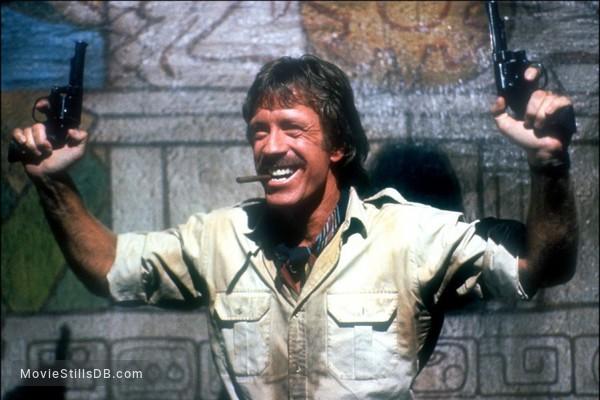 Firewalker - Publicity still of Chuck Norris