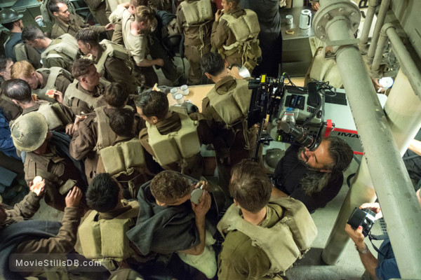 Dunkirk - Behind the scenes photo of Hoyte van Hoytema