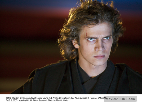 Star Wars: Episode III - Revenge of the Sith - Publicity still of Hayden Christensen