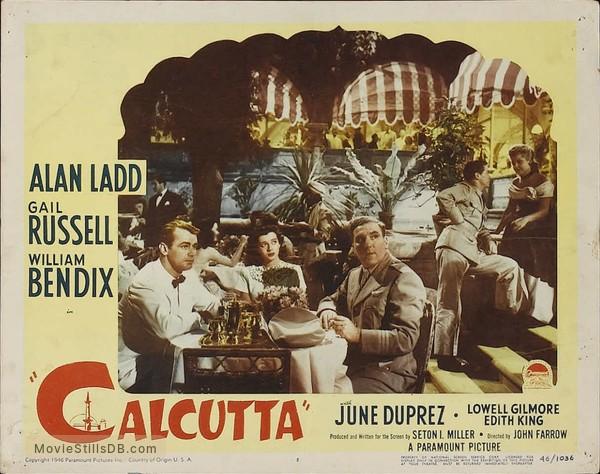 Calcutta - Lobby card