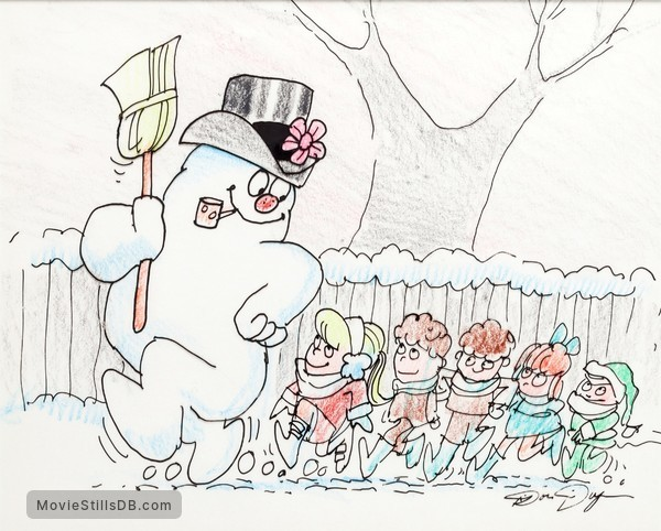 Frosty the Snowman - Pre-production image
