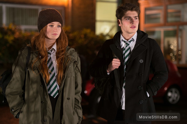 Another Me - Publicity still of Sophie Turner & Gregg Sulkin