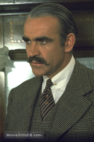 Murder on the Orient Express - Publicity still of Sean Connery
