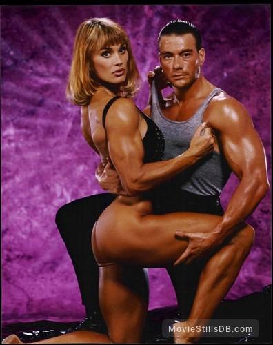Double Impact - Promo shot of Jean-Claude Van Damme & Corey Everson