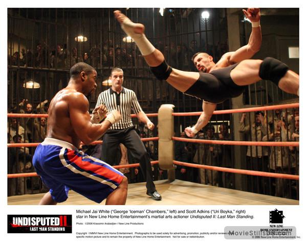 Undisputed II: Last Man Standing - Lobby card with Michael Jai White & Scott Adkins