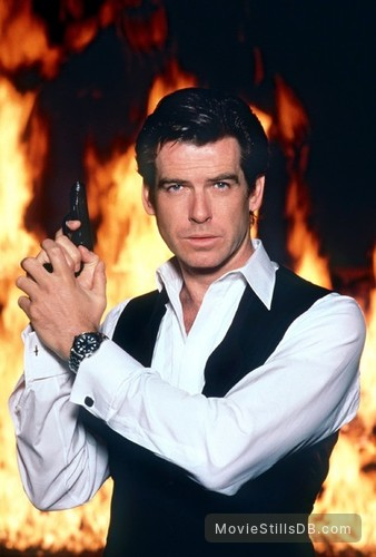 GoldenEye - Promo shot of Pierce Brosnan