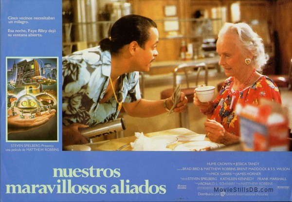 *batteries not included - Lobby card with Jessica Tandy & Michael Carmine