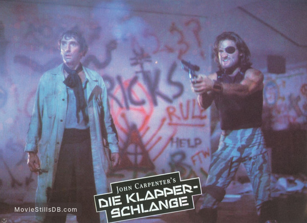 Escape From New York - Lobby card with Kurt Russell & Harry Dean Stanton