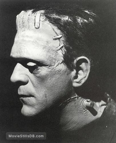 Bride of Frankenstein - Promo shot of Boris Karloff