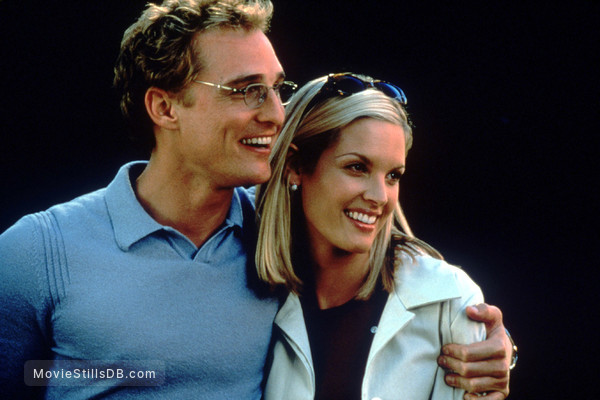 The Wedding Planner - Publicity still of Bridgette Wilson & Matthew McConaughey
