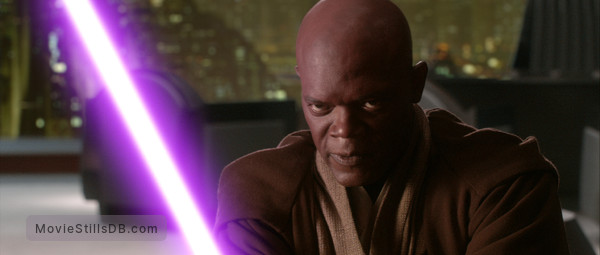 Star Wars: Episode III - Revenge of the Sith - Publicity still of Samuel L. Jackson