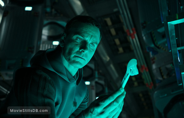 Alien: Covenant - Publicity still of Michael Fassbender
