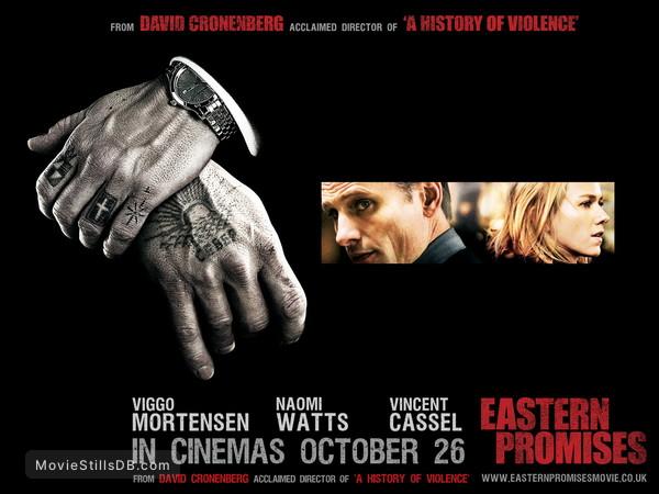 Eastern Promises Wallpaper With Naomi Watts Viggo Mortensen