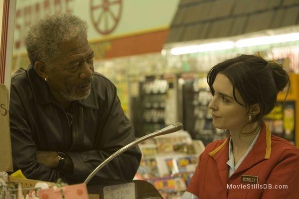 10 Items or Less - Publicity still of Morgan Freeman & Paz Vega
