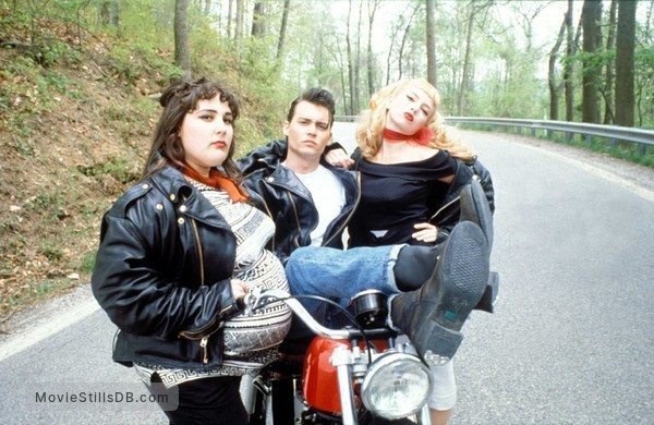 Cry-Baby - Promo shot of Johnny Depp, Traci Lords & Ricki Lake