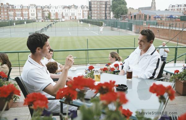 Match Point - Publicity still of Jonathan Rhys Meyers & Matthew Goode