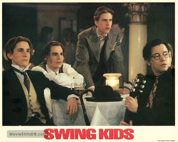 Swing Kids Lobby Card With Frank Whaley Christian Bale