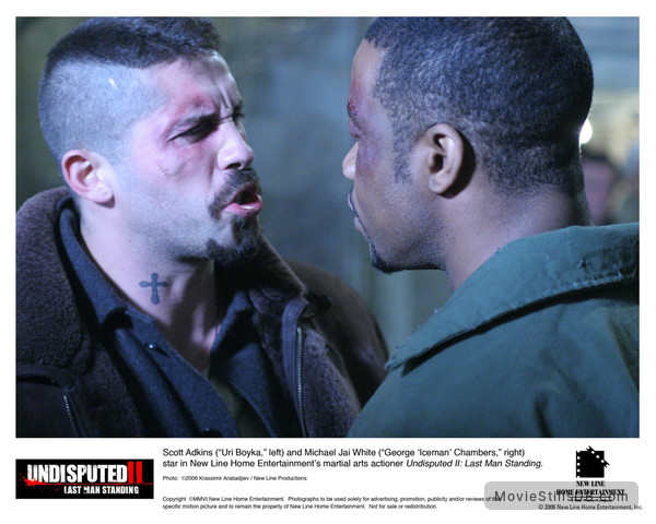 Undisputed II: Last Man Standing - Lobby card with Michael Jai White & Scott Adkins
