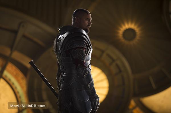 Thor: Ragnarok - Publicity still of Karl Urban