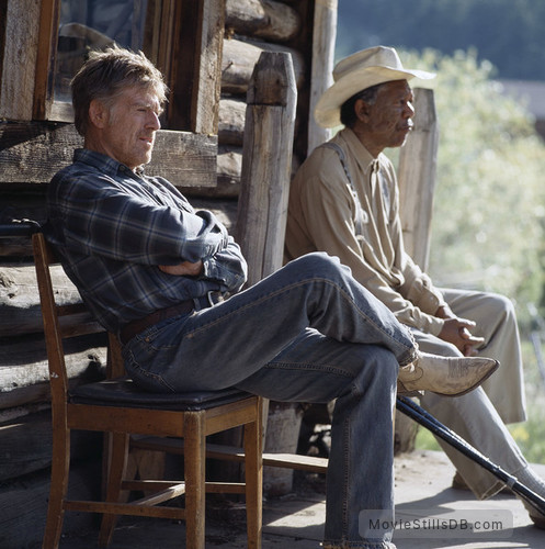 An Unfinished Life - Publicity still of Robert Redford & Morgan Freeman