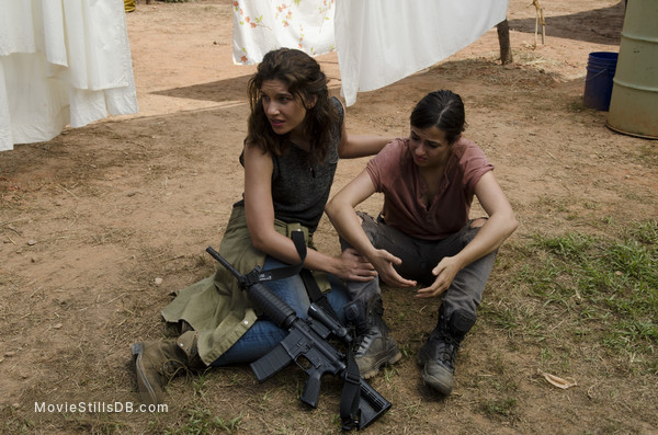 The Walking Dead - Publicity still of Alanna Masterson & Juliana Harkavy