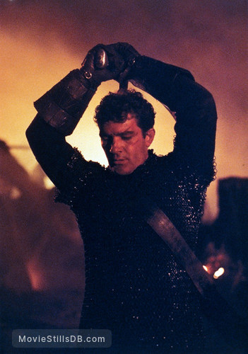 The 13th Warrior - Publicity still of Antonio Banderas