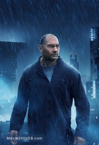 Blade Runner 2049 - Promotional art with Dave Bautista
