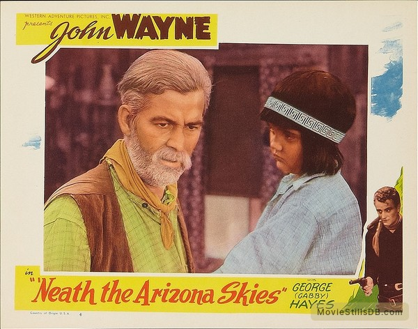 'Neath the Arizona Skies - Lobby card