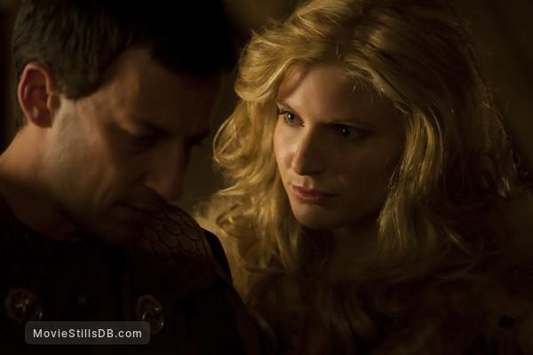 Spartacus: Blood And Sand - Publicity still of Craig Parker & Viva Bianca