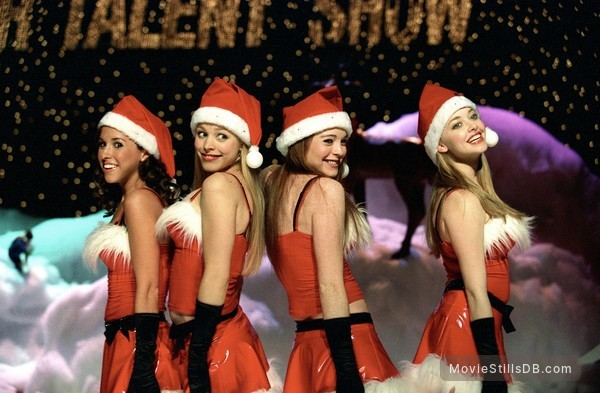 Mean Girls - Publicity still of Lindsay Lohan, Rachel McAdams, Lacey Chabert & Amanda Seyfried