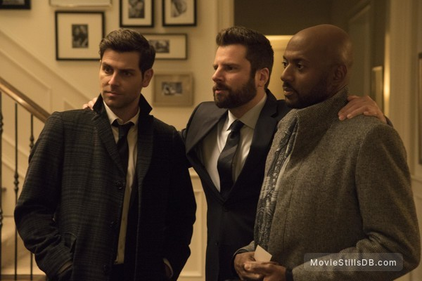 A Million Little Things - Publicity still of David Giuntoli, Romany Malco & James Roday