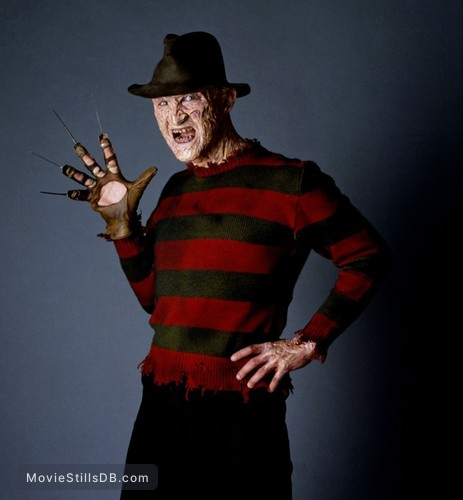 A Nightmare On Elm Street - Promo shot of Robert Englund