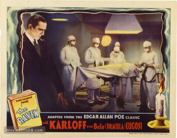 The Raven - Lobby card with Bela Lugosi