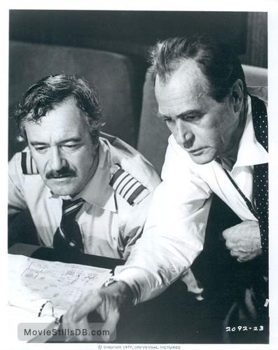 Airport '77 - Publicity still of Jack Lemmon & Darren McGavin