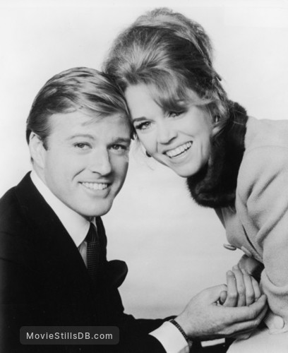 Barefoot in the Park - Promo shot of Robert Redford & Jane Fonda