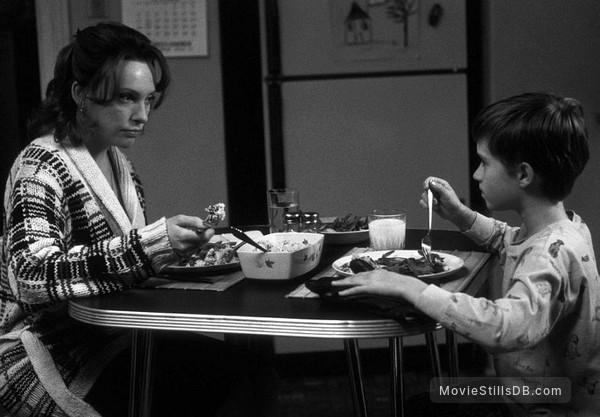 The Sixth Sense - Publicity still of Toni Collette & Haley Joel Osment