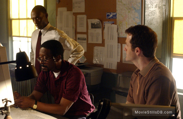The Wire - Publicity still of Lance Reddick, Clarke Peters & Jim True-Frost