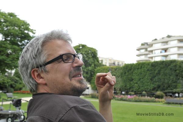 Attila Marcel - Behind the scenes photo of Sylvain Chomet
