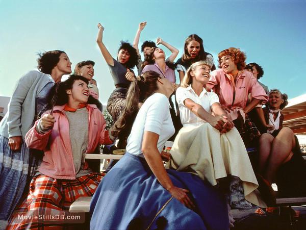 Grease - Publicity still of Olivia Newton-John