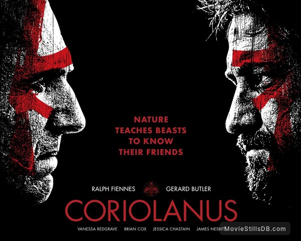 a review of coriolanus a movie by ralph fiennes Coriolanus is one of shakespeare's less-popular plays, making it a brave choice for ralph fiennes' directorial début however, the risk certainly pays off, as fiennes transforms the play by moving the action from ancient rome to a recognisably brutal present continue reading.